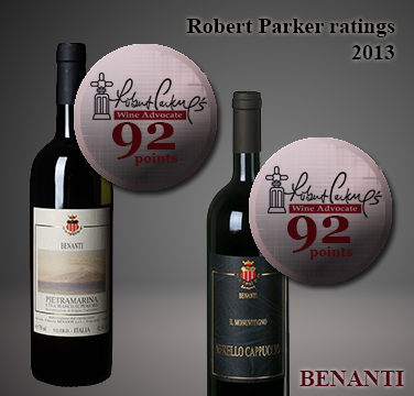 robert parker ratings